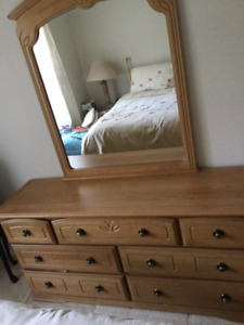 EXCELLLENT CONDITION BEDROOM SUITE  $250.00 OBO