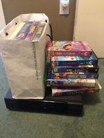 VCR with Kids Movies
