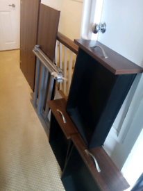Modern Desk with lockable drawers, was £350 new