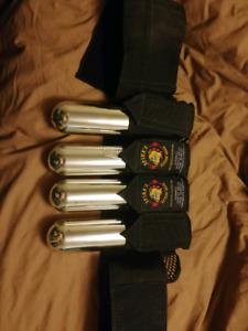 Paintball ammo belt