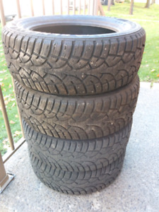 General Tire Altimax Arctic 205 55 16 set of 4 winter tires $225
