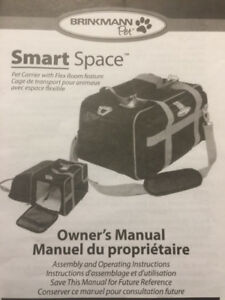 Smart space pet carrier