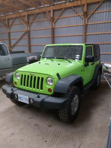 Jeep Wrangler LOW KM!!