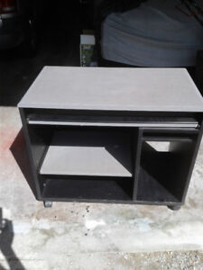 Multipurpose Desk with Keyboard Tray