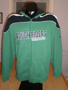 Saskatchewan Roughriders Hoodie Reebok Official CFL - Small