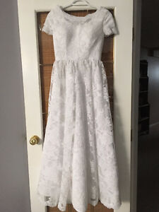 Size 0 wedding dress
