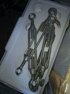 "4 10"" Hook and Eye Turnbuckles"