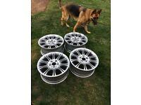 BMW MV2 alloy wheels