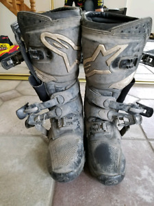 Size 8 motocross boots