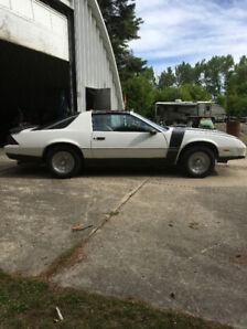 2 - 1986 T-Top Camaro's