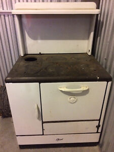 Antique Wood Cookstove