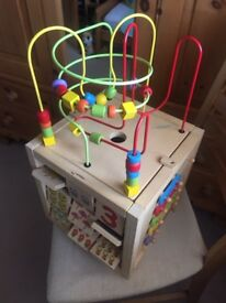 Childs activity cube