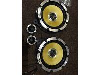 Vibe black air 345 watts speakers - 6.5 inch