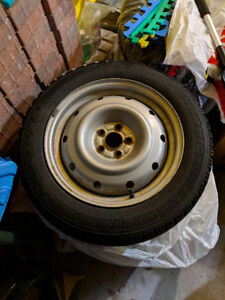 Snow / winter tires with rims (set of 4)