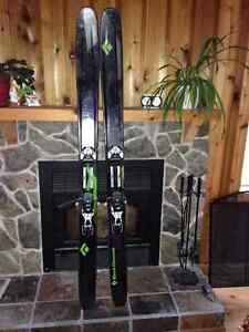 Skis haute-route Black Diamond Amperage 185cm Saguenay Saguenay-Lac-Saint-Jean image 1
