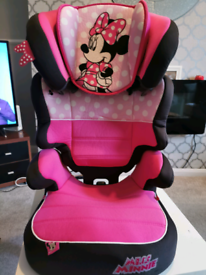 Mini mouse booster seat