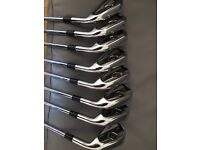 TaylorMade CB Tour Preferred Irons 3-PW & Two Cleveland 588 RTX 50 & 54 degree wedges