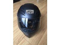 Helmet......AGV Skyline - Plain - Black Matt - Size XS