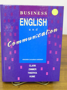 Gr. 12 & College Textbook Business English & Communication