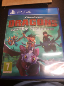 Dragons dawn of new rider PS4