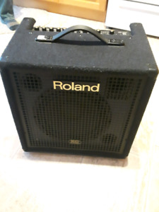 Roland kc 350  4 channel mixing  keyboard amp