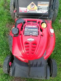 Troy bilt 21inch petrol lawnmower