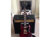Vintage SG Electric Guitar