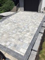 Victor Landscaping- Pave uni