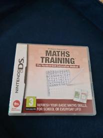 Math training DS