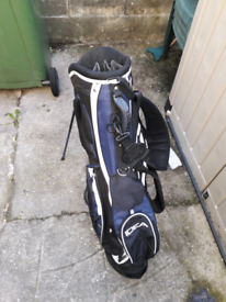 Idea golf bag and stand