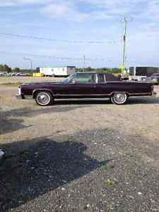 78 lincoln town coupe