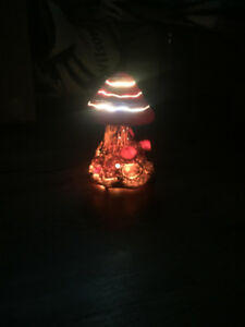 RARE** HARD TO FIND MUSHROOM LED LAMP VINTAGE RETRO FUNKY