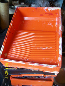5 HEAVY DUTY PAINT PANS