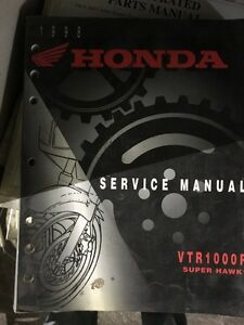 Service manual Honda VTR / RC51