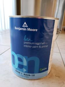 Benjamin Moore Paint - Never Opened