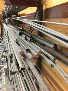 Hammered Metal Bars and Tubing