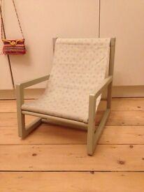 Cute children's chair, slightly rocking
