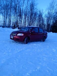 2008 Chevrolet Aveo Berline ( Echange contre camion a neige )