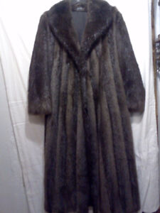 Beaver Long hair coat
