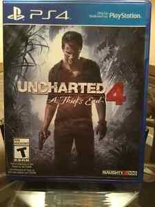 Uncharted 4 for PS4 Windsor Region Ontario image 1