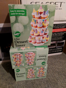 Wilton 4 tier cupcake towers