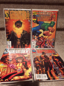 4 Generation X comic book in mint condition. $3 for the lot.