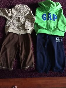 Boy's clothing size 12 mths and shoes size 6US