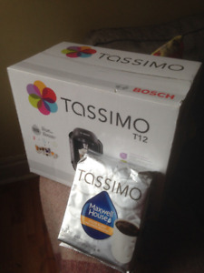 Tassimo T12 Coffee Maker - unopened/never used - Only $50!