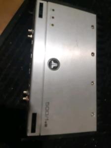 JL 500/1v2 mono amp & alpine v12 4 channel amp