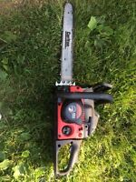 Troy built chain saw