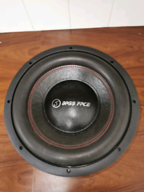 "Bassface 12"" subwoofer. 2 available"