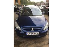 PEUGEOT 307 SW AUTOMATIC 7 SEATER LONG MOT AND TAX PX WELCOME