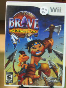 Brave A Warrior's Tale Wii
