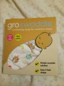 Groswaddle wrap for newborn sleep boy girl baby